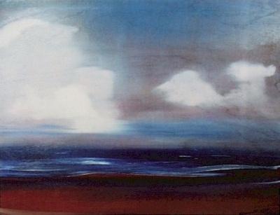 Святослав Рерих: Аравийское море. 1961. Государственный музей Востока, Москва (временно)