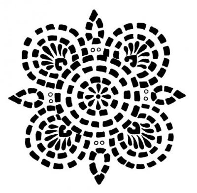 Орнамент в стиле этно