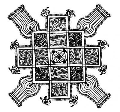 Индия: Этно-орнамент