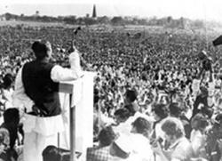 знаменитая речь - начало борьбы против Пакистана