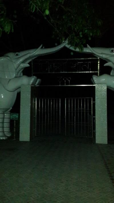 ворота в парк и везде манго манго манго