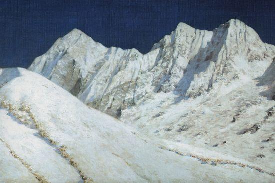 В Индии. Снега Гималаев. 1874-1876