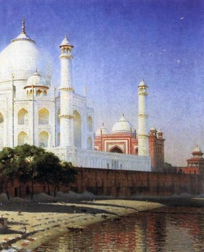Тадж-Махал. 1874-1876