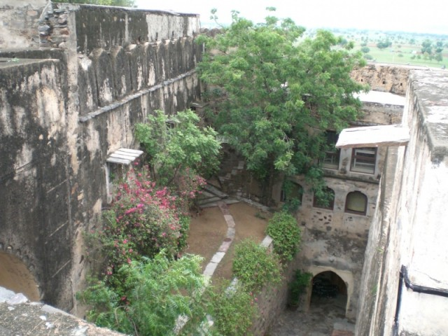 фото форта  с крыши