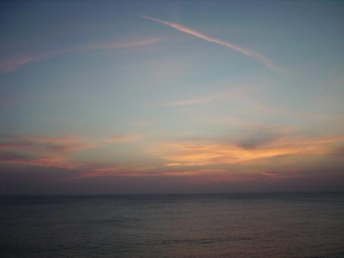 Такого заката, как у Izum, к сожалению не было - но все равно красиво