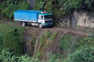 1 место Боливия дорога смерти