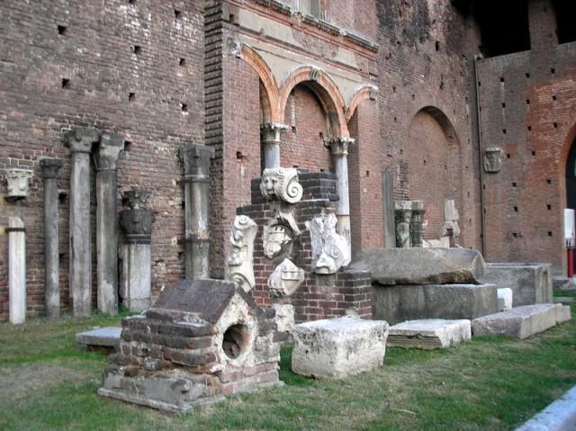 древнии руины