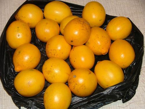 Лимоны..
