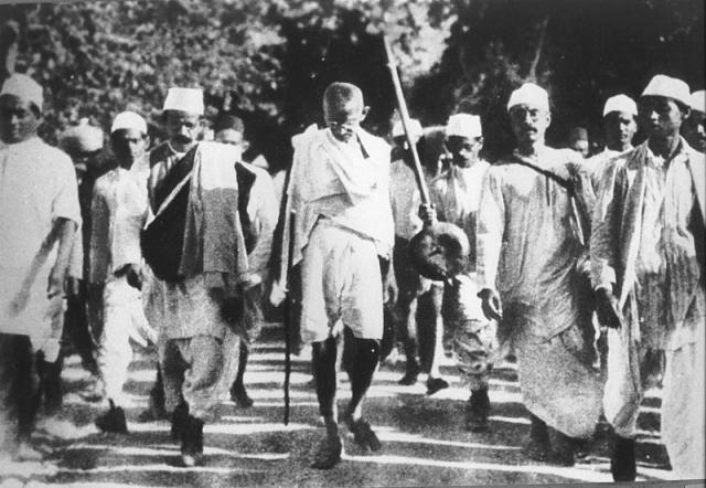 Соляной марш Махатмы Ганди
