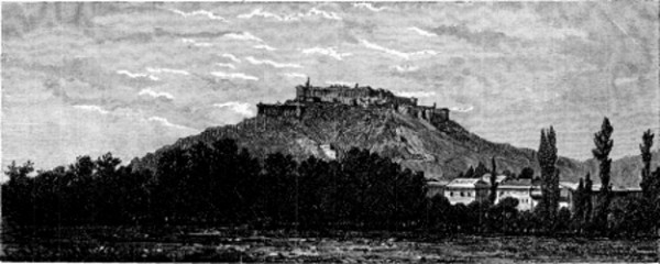 Гора Хари Парбат (со старинной гравюры)