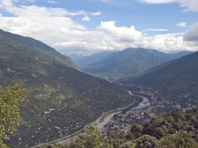 Вид на город Куллу