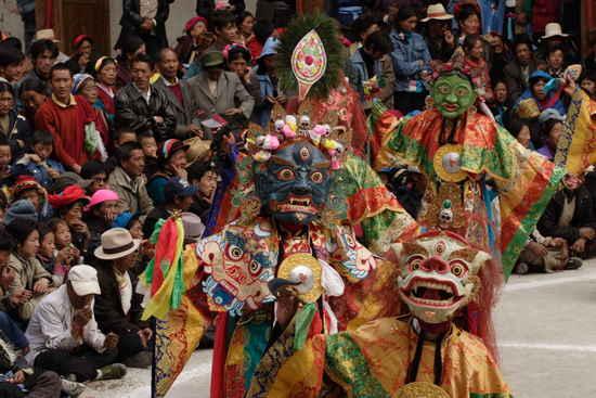 На буддистстком фестивале