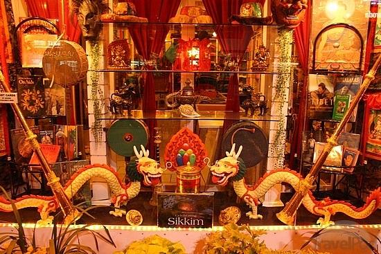 Тибетская лавка в Гангтоке