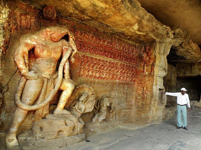 Пещеры Удаигири