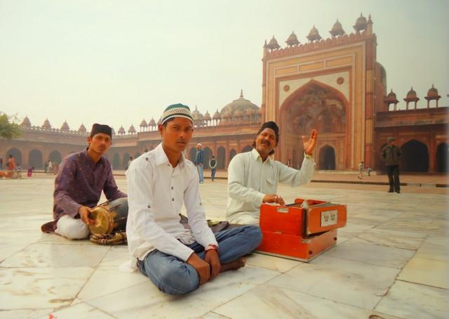 Каввали в Фатехпур Сикри
