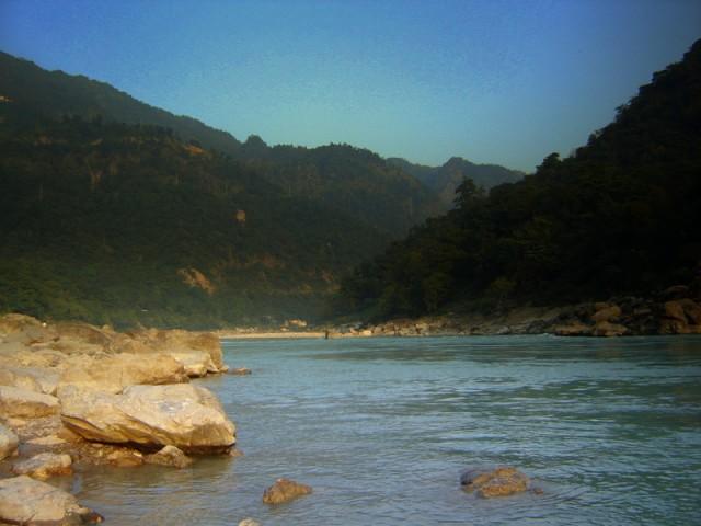 Правый берег Ганги