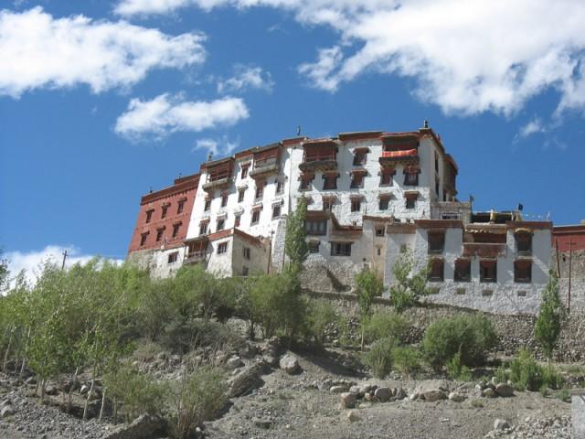 Буддистский монастырь в Ладакхе