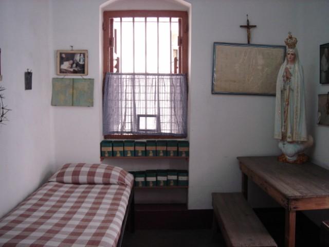Комната Матери Терезы в Доме Матери