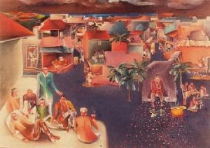 "Бхупен Кхакхар. ""Празднование Гуру Джаянти"" (1980)"