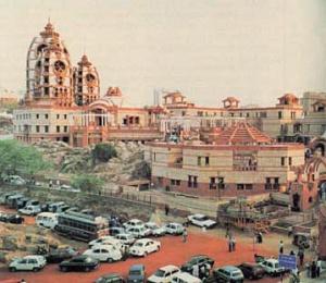 """Храм """"Слава Индии"""" в Дели, Индия"""