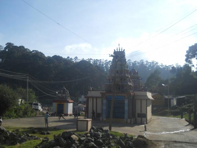 южный хинду храм,вообще там католики в основном