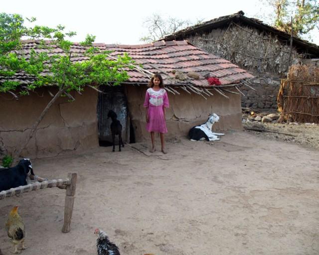 Манду. Нехитрое хозяйство местных жителей