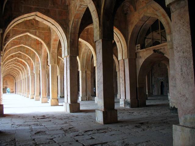 Манду. Мечеть Джами Масджит. Своды