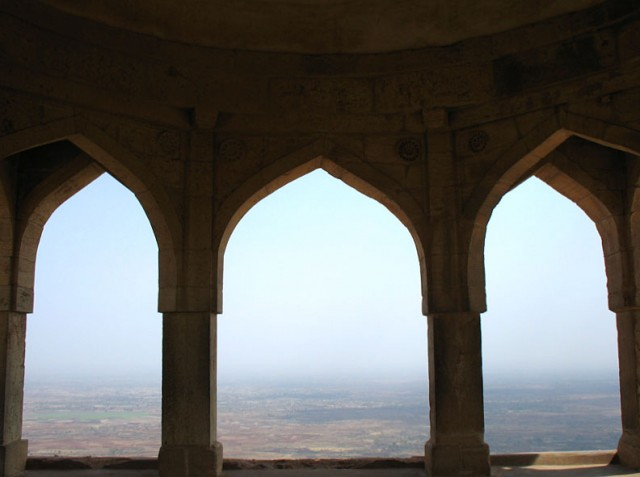 Манду. Вид из дворца Рупмати