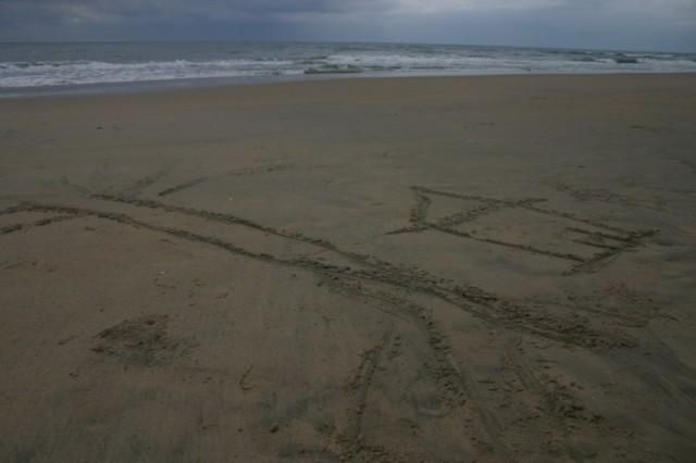 Мамалапурам. Дом на песке
