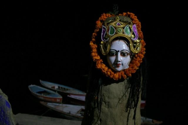 Варанаси. Взгляд богини