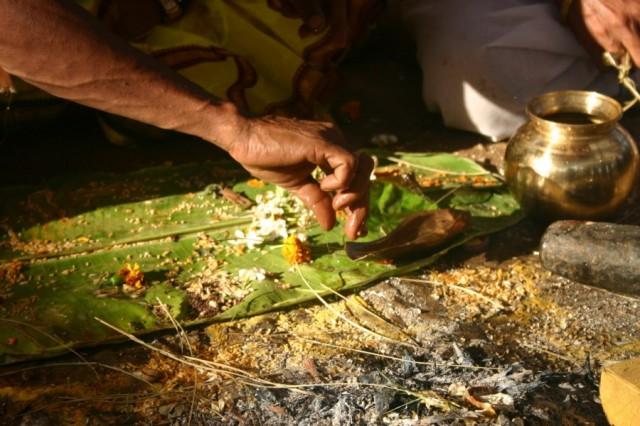 Пури. Индуистская церемония