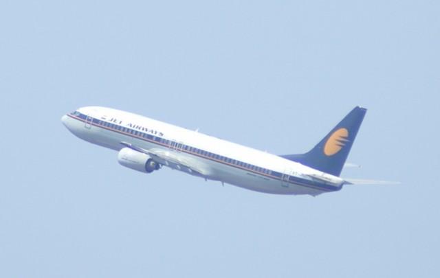 Самолет авиакомпании Jet Airways