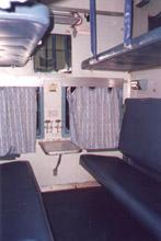 Внутренний вид вагона 2 АС (купе)