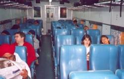 Внутренний вид вагона СС