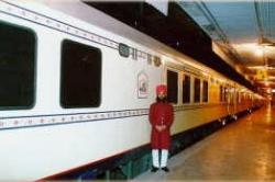 Поезд Palace on Wheels: внешний вид