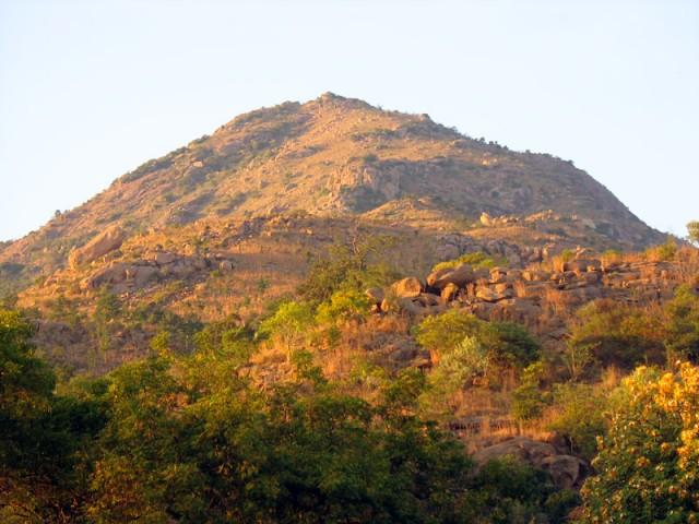 Огненная гора Аруначала