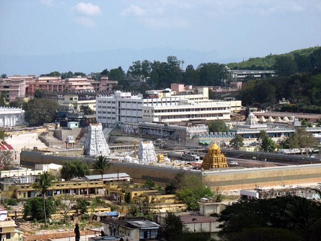 Тирумала. Храм Шри Венкатешвара (Баладжи)