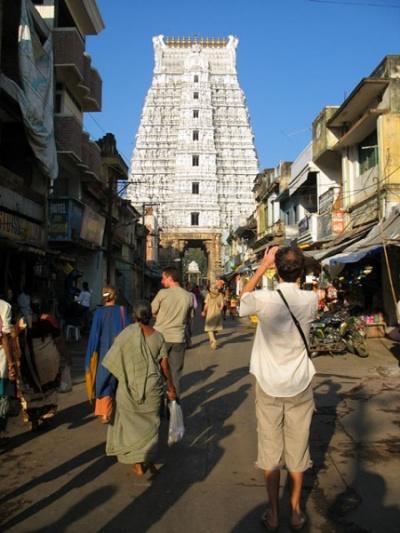 Ворота храма Говиндарадж в Тирупати