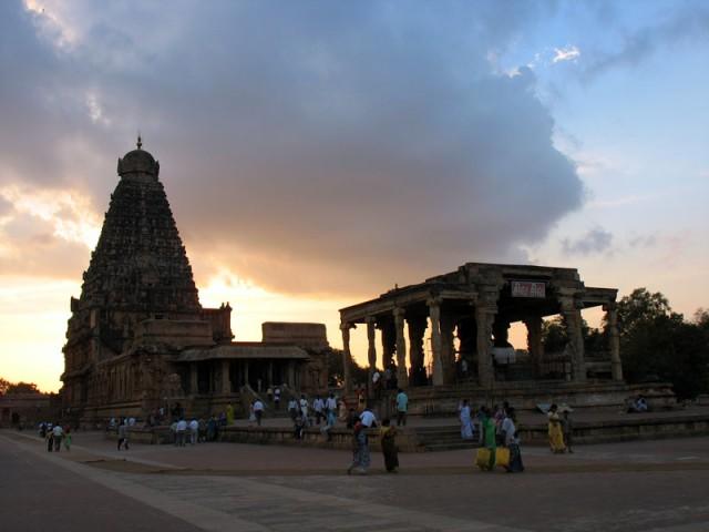 Храм Брихадешвара. Танжавур