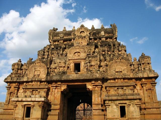 Ворота храма Брихадешвара