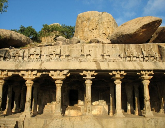 Храмы Мамалапурама – это гармоничное сочетание природного и рукотворного