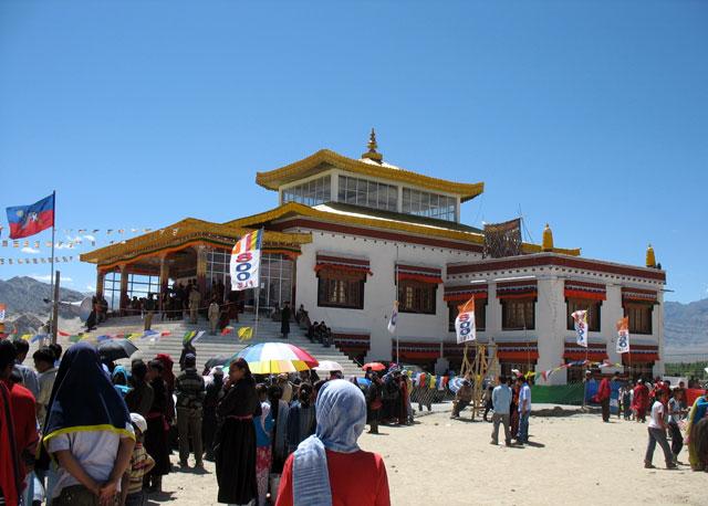 Фестиваль в монастыре в Ше, Ладакх