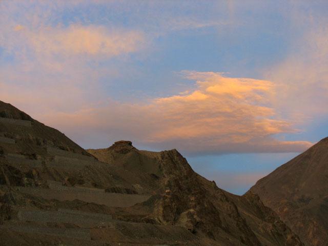 Горы над Алчи