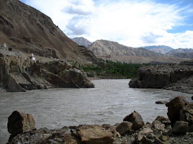 Река Инд, около Алчи
