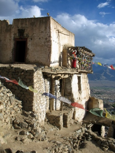 В монастыре Намгьял Цемо над Лехом, Ладакх