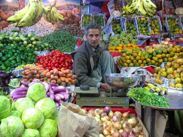 Вегетарианцы могут быть спокойны – с фруктами и овощами в Лехе полный порядок