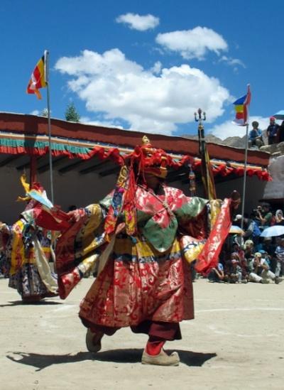 Танец лам, Пьянг, Ладакх