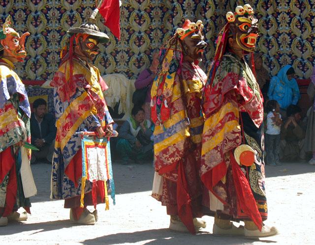Духи на мистерии Чам, монастырь Пьянг, Ладакх