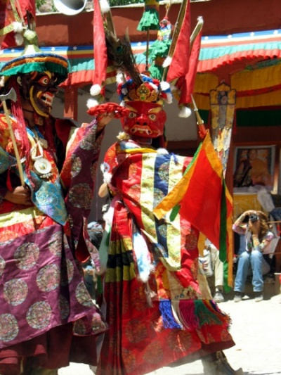 Танец масок, монастырь Пьянг, Ладакх