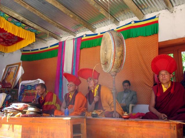 На фестивале в монастыре Пьянг, Ладакх